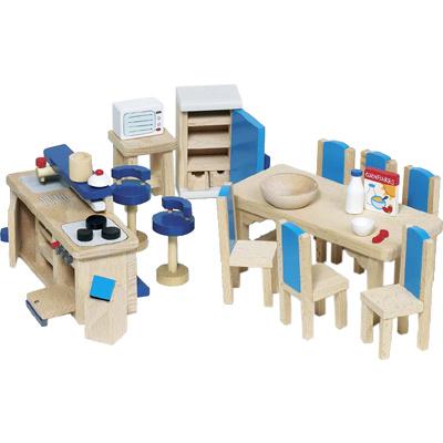Puppenhaus kinder spielzeug fur gross und klein for Küche kinderspielzeug