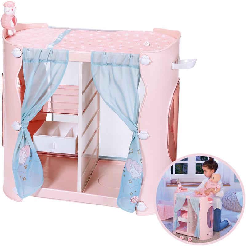 zapf-creation-baby-annabell-sweet-dreams-2-in-1-schrank-rosa-kinderspielzeug-