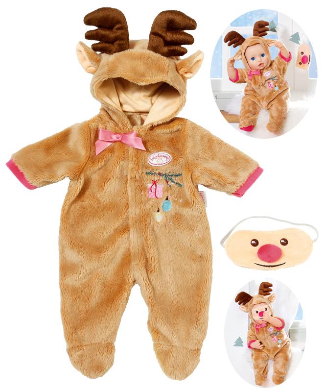 zapf-creation-baby-annabell-deluxe-set-rentier-gr-43-46-cm-braun-kinderspielzeug-