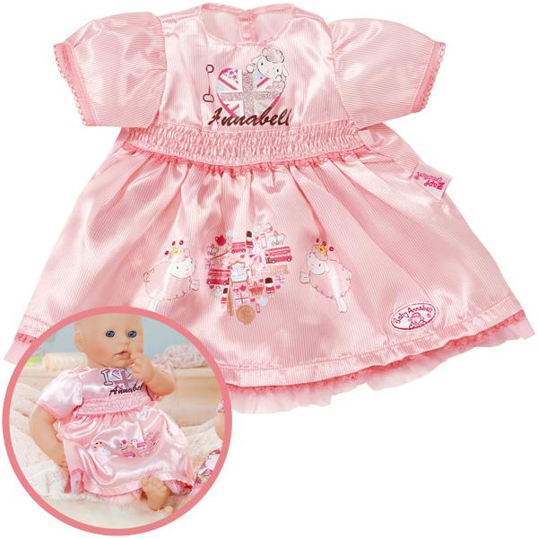 alle bewertungen zu baby annabell kleid rosa bei spielzeug24. Black Bedroom Furniture Sets. Home Design Ideas