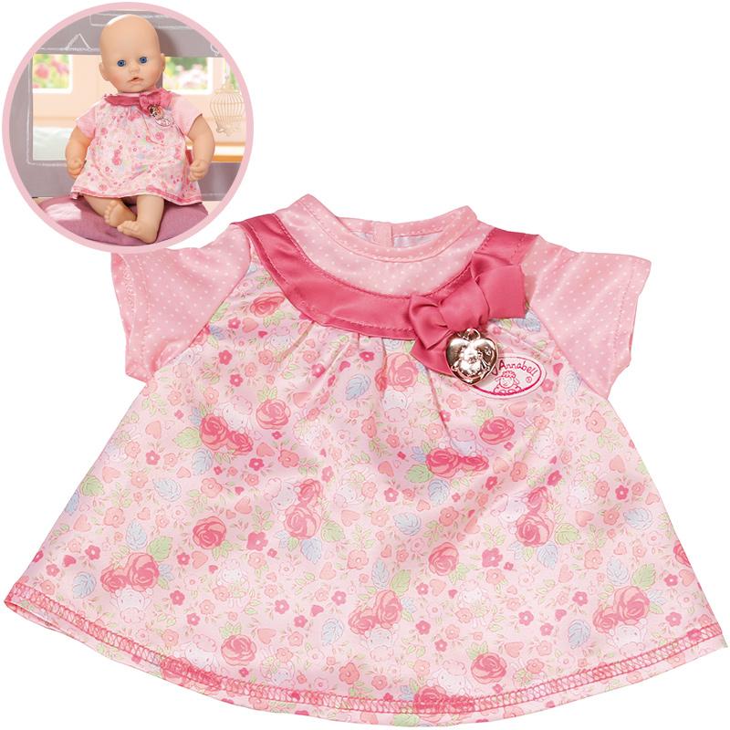 Zapf Creation Baby Annabell Kleid (Rosa) bei Spielzeug24