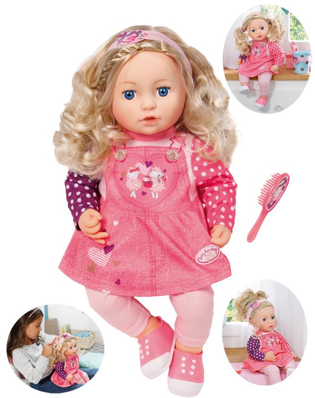 Zapf Creation Baby Annabell Puppe Sophia so Soft 43 cm ...