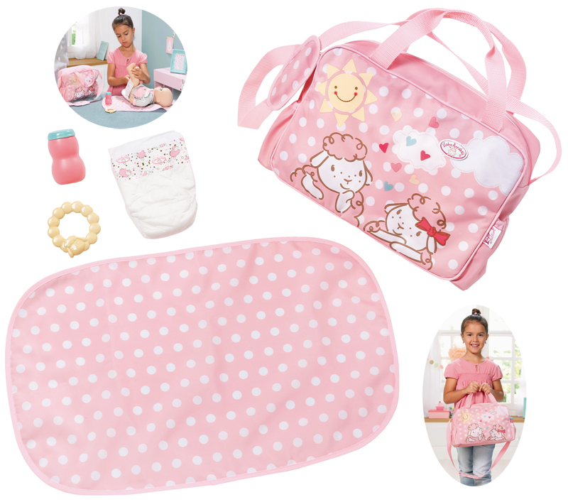 zapf-creation-baby-annabell-wickeltasche-rosa-kinderspielzeug-