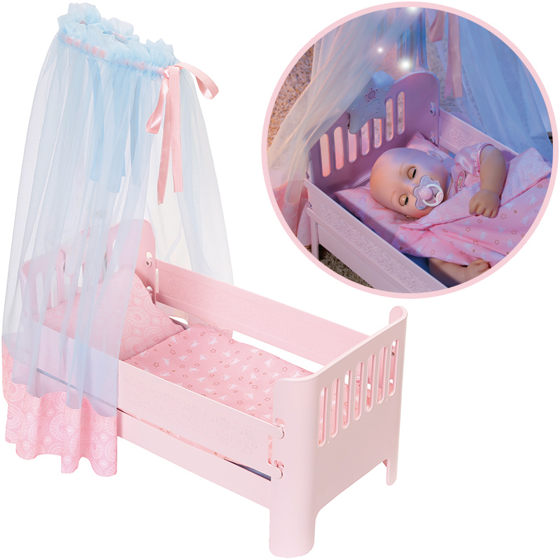 Zapf Creation Baby Annabell Sweet Dreams Bett Rosa Bei Spielzeug24