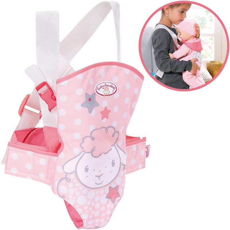zapf-creation-baby-annabell-babytrage-rosa-kinderspielzeug-
