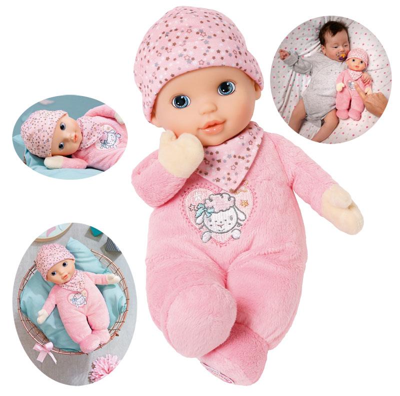 zapf-creation-baby-annabell-newborn-heartbeat-30-cm-rosa-kinderspielzeug-