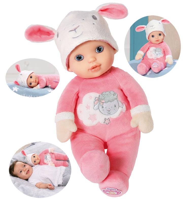 zapf-creation-baby-annabell-newborn-puppe-30-cm-rosa-wei-kinderspielzeug-