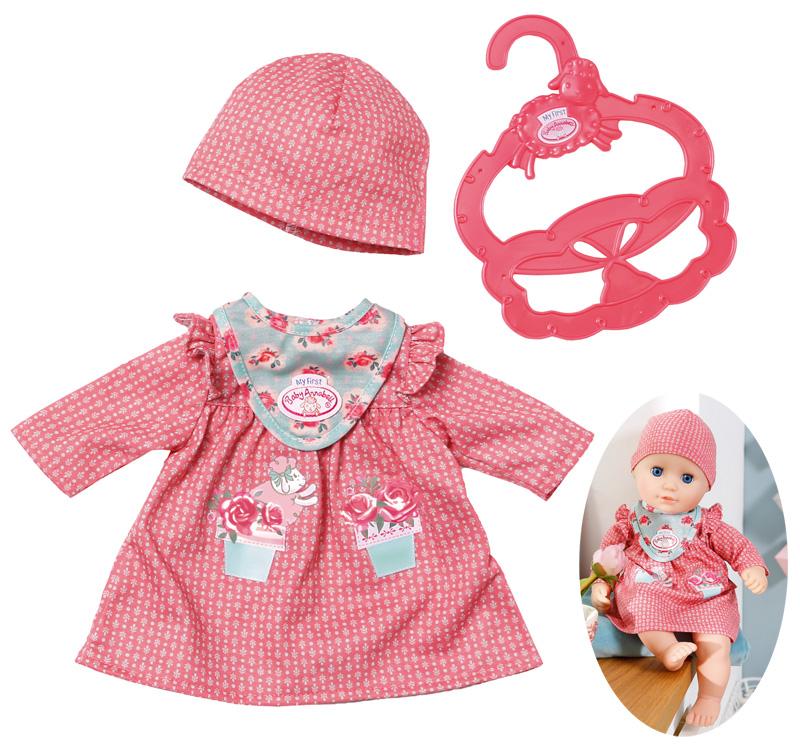 zapf-creation-my-first-baby-annabell-kuschel-outfit-kleid-30-36-cm-altrosa-kinderspielzeug-