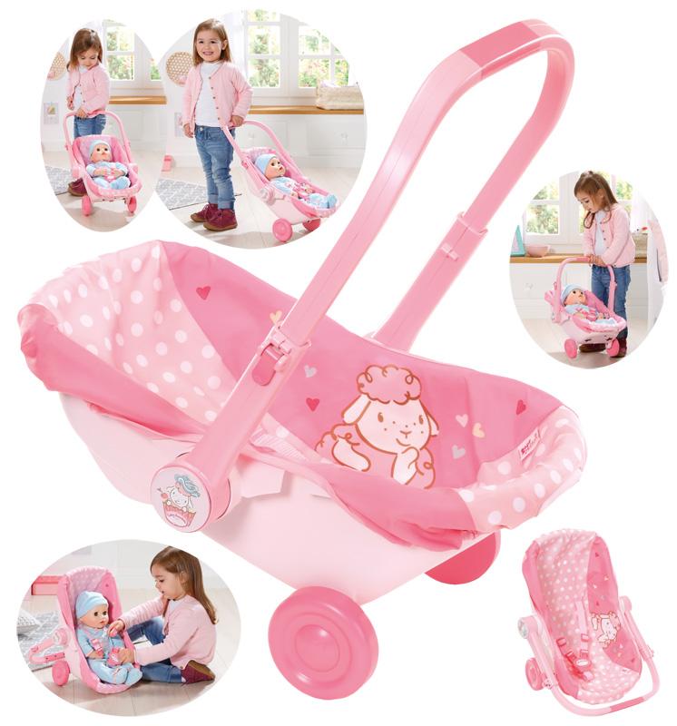 zapf-creation-baby-annabell-babyschale-mit-radern-kinderspielzeug-