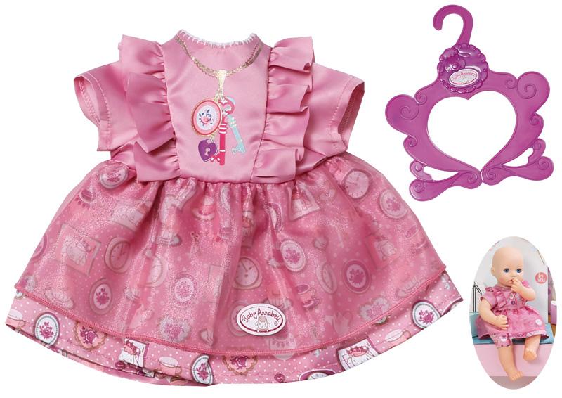 zapf-creation-baby-annabell-kleid-40-46-cm-violett-kinderspielzeug-