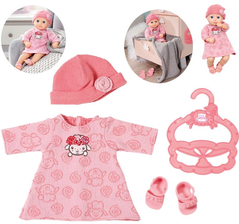 zapf-creation-my-little-baby-annabell-strickkleid-36-cm-rosa-kinderspielzeug-