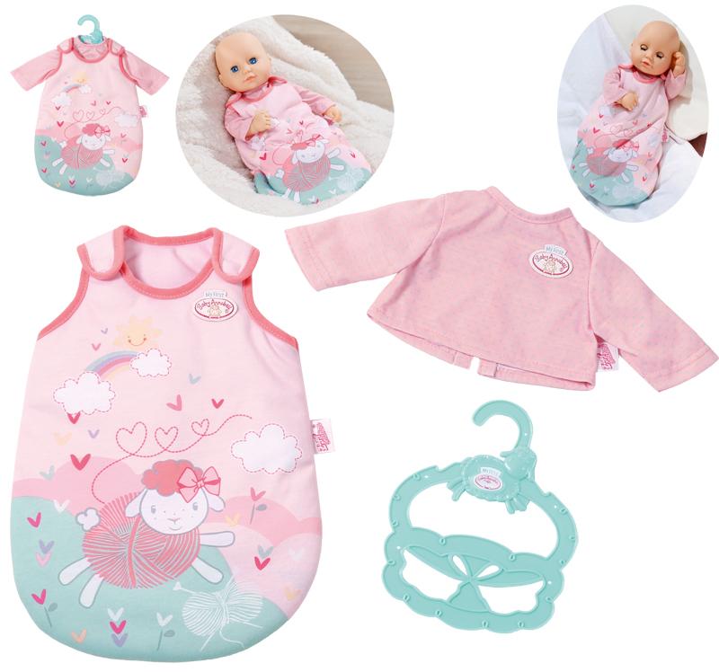 zapf-creation-my-little-baby-annabell-kleiner-schlafsack-36-cm-rosa-kinderspielzeug-