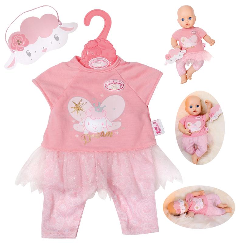 Babypuppen & Zubehör Kleidung & Accessoires Baby Annabell Sweet Dreams Schlafsack Puppe Zubehör für Puppen bis zu 43 Cm