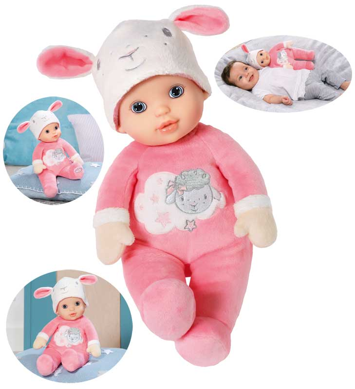 zapf-creation-baby-annabell-sweetie-for-babies-puppe-30-cm-rosa-wei-kinderspielzeug-, 16.95 EUR @ spielzeug24