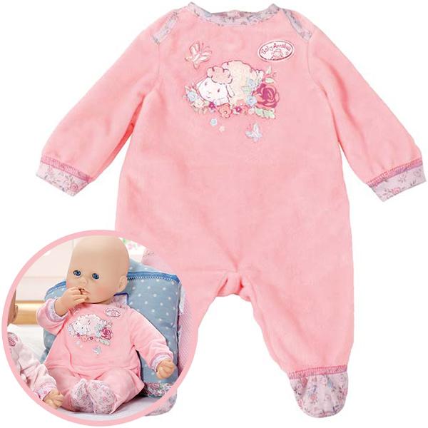 zapf creation baby annabell nicki strampler rosa ebay. Black Bedroom Furniture Sets. Home Design Ideas