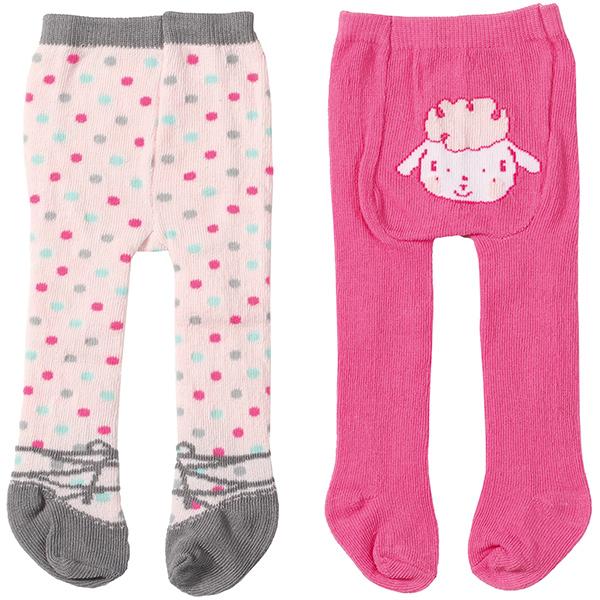 zapf creation baby annabell strumpfhosen set rosa pink bei. Black Bedroom Furniture Sets. Home Design Ideas