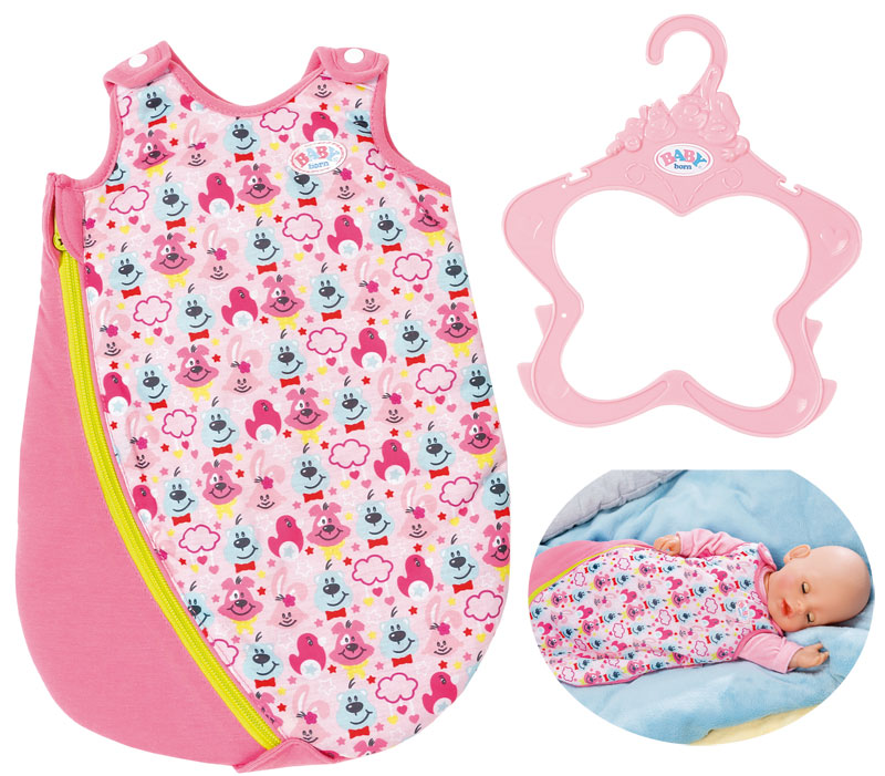 zapf creation baby born schlafsack pink bei. Black Bedroom Furniture Sets. Home Design Ideas
