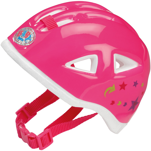 zapf creation baby born fahrradhelm pink helm f r puppe. Black Bedroom Furniture Sets. Home Design Ideas