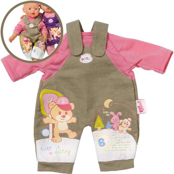 Baby Born My little easyFIT Kleidung Latzhose [Kinderspielzeug]