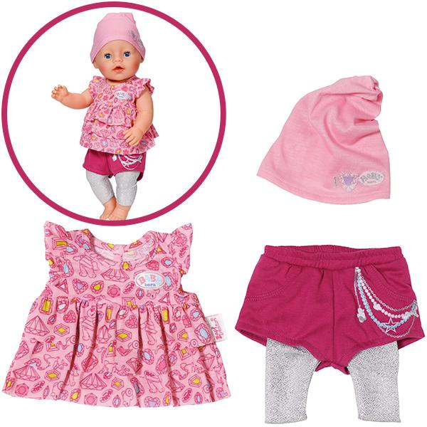 Knorrtoys Baby Born Fashion Kollektion (Rosa-Brombeer) [Kinderspielzeug]