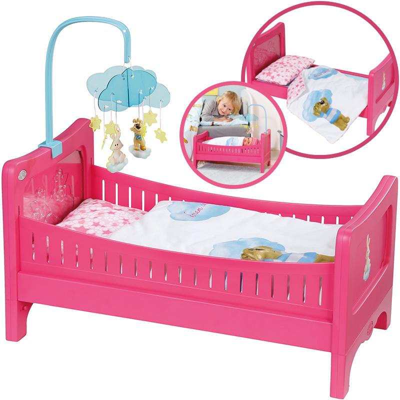 alle bewertungen zu baby born bett mit mobile bei. Black Bedroom Furniture Sets. Home Design Ideas