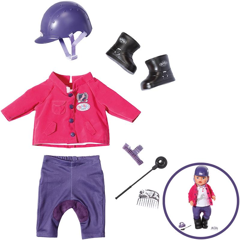 zapf-creation-baby-born-pony-farm-deluxe-reit-outfit-kinderspielzeug-