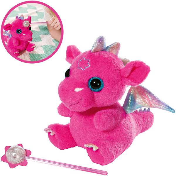 zapf creation baby born wonderland baby drache pink ebay. Black Bedroom Furniture Sets. Home Design Ideas