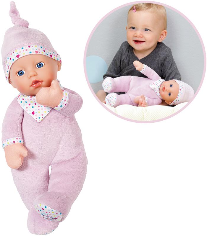 zapf creation baby born first love puppe 30 cm flieder 4001167823439 ebay. Black Bedroom Furniture Sets. Home Design Ideas