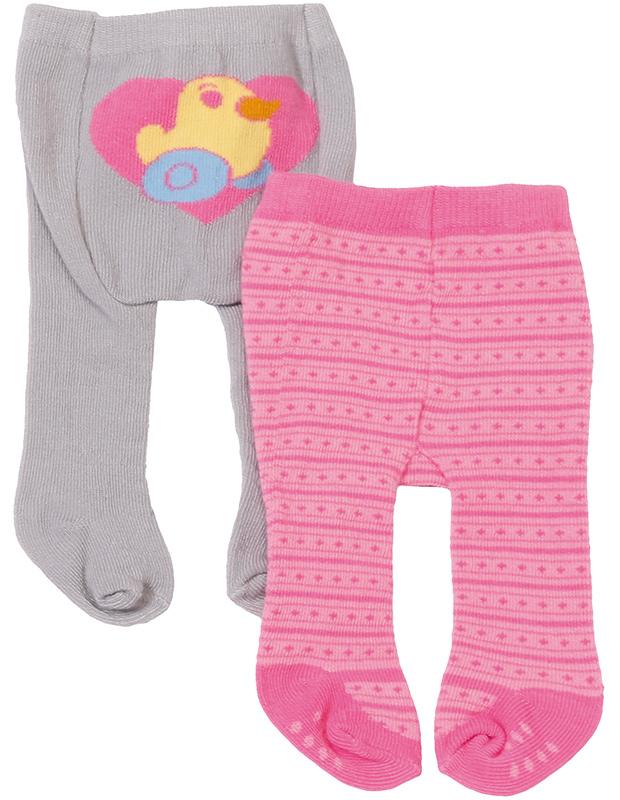 zapf creation baby born strumpfhosen set pink grau bei. Black Bedroom Furniture Sets. Home Design Ideas