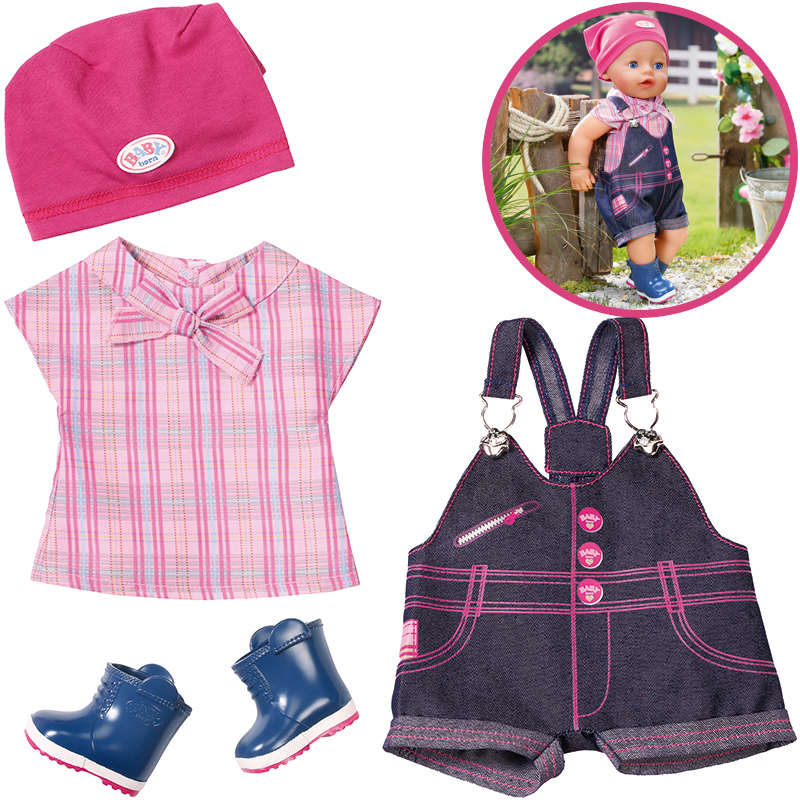 zapf-creation-baby-born-pony-farm-deluxe-outfit-kinderspielzeug-