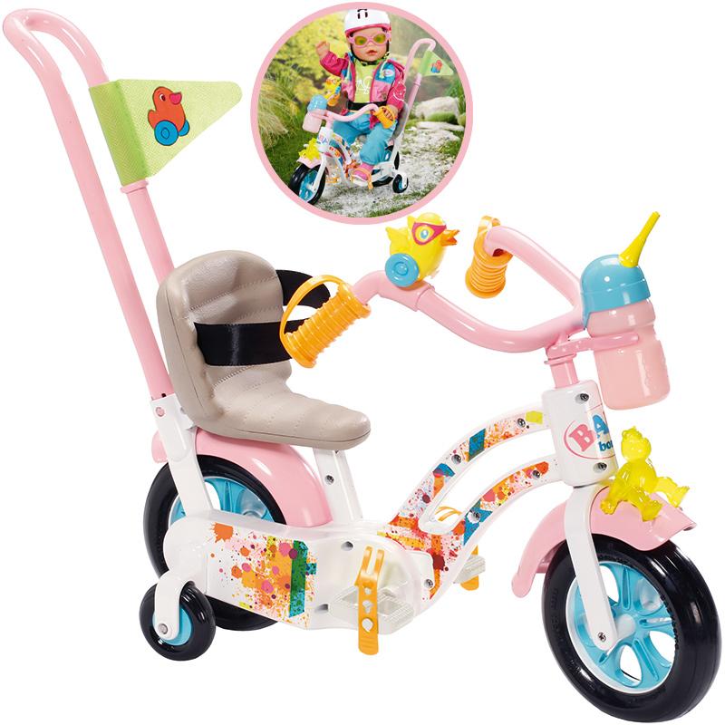 zapf-creation-baby-born-play-fun-fahrrad-wei-rosa-kinderspielzeug-
