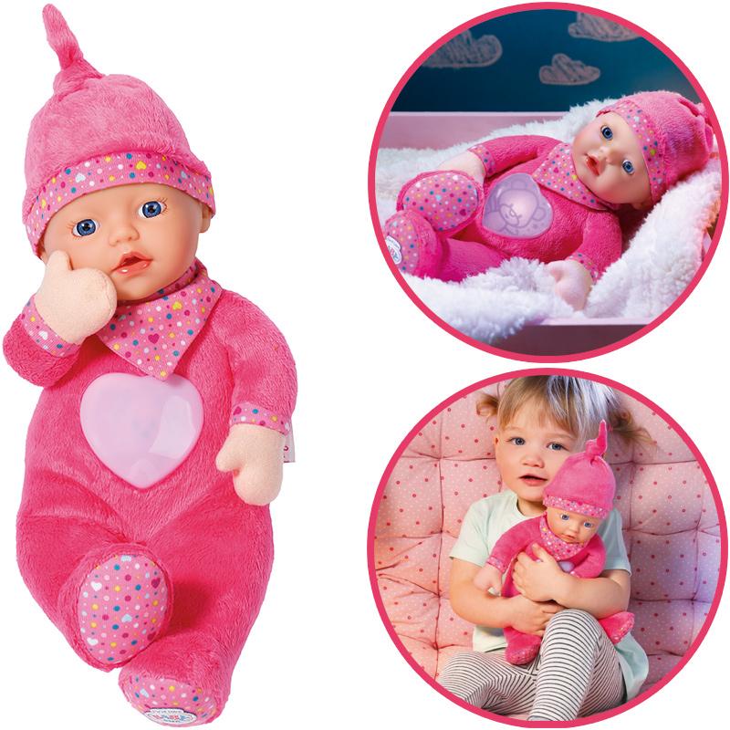 zapf creation baby born first love nightfriends puppe. Black Bedroom Furniture Sets. Home Design Ideas