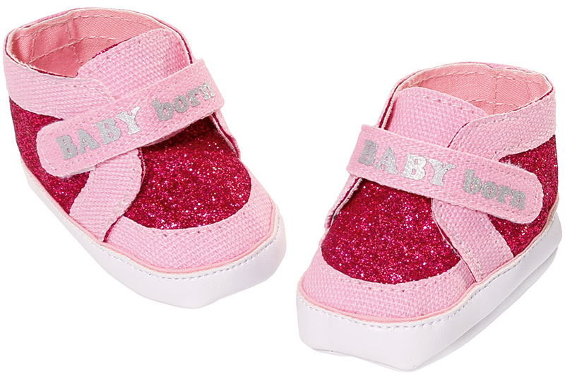 Zapf Creation Baby Born Schuhe Sneakers Pink Bei Nunon De