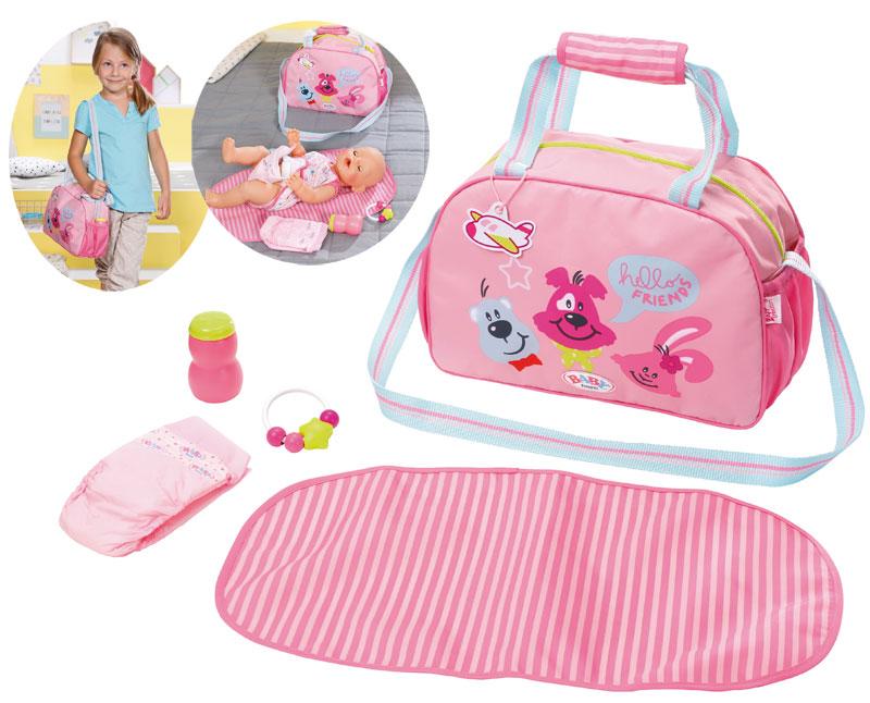 zapf-creation-baby-born-wickeltasche-rosa-kinderspielzeug-
