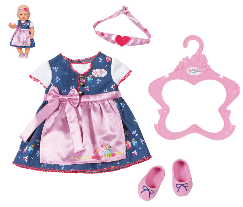 zapf-creation-baby-born-dirndl-lila-kinderspielzeug-
