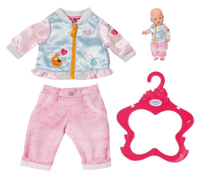 zapf-creation-baby-born-freizeit-outfit-rosa-kinderspielzeug-