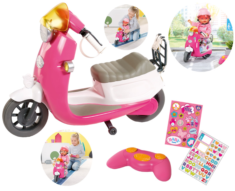 Zapf Creation Baby Born City Rc Scooter Pink Bei Spielzeug24