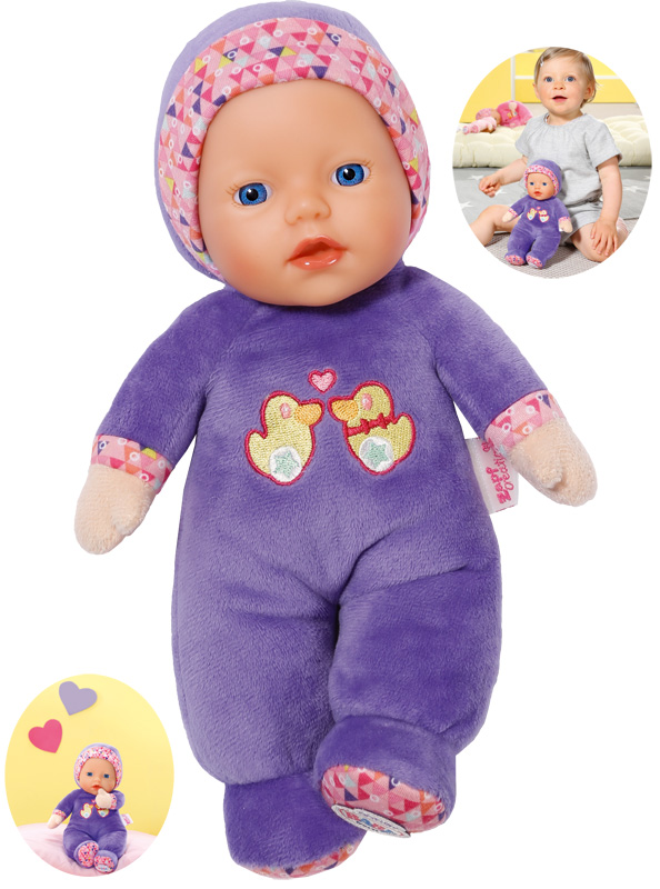 zapf-creation-baby-born-first-love-puppe-26-cm-lila-kinderspielzeug-