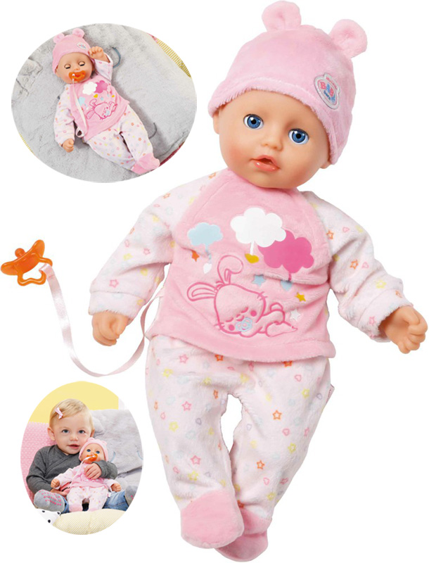 zapf-creation-my-little-baby-born-puppe-super-soft-girl-32-cm-rosa-wei-kinderspielzeug-