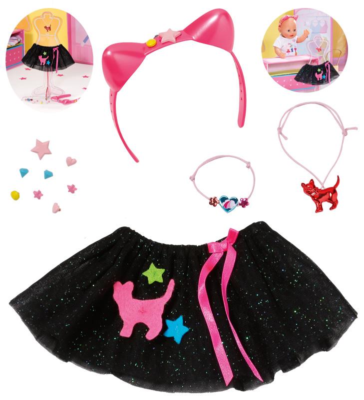 zapf-creation-baby-born-boutique-tutu-set-gr-43-cm-schwarz-kinderspielzeug-