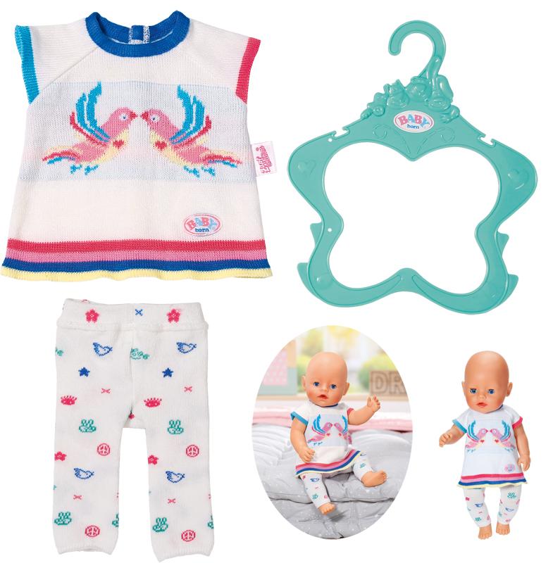 zapf-creation-baby-born-trend-strickkleidset-43-cm-wei-kinderspielzeug-, 12.95 EUR @ spielzeug24