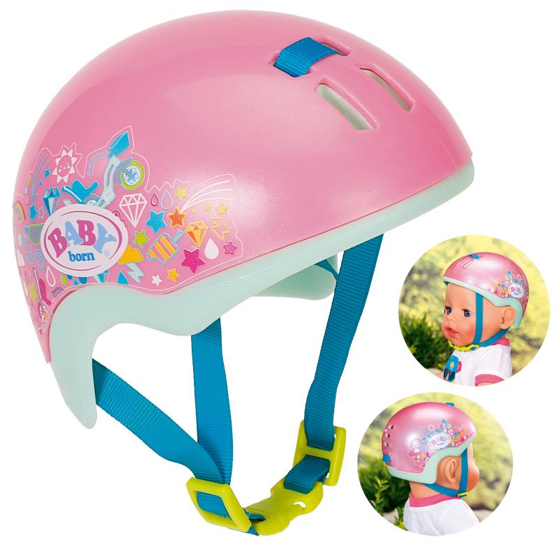 zapf-creation-baby-born-play-fun-fahrradhelm-43-cm-pink-kinderspielzeug-