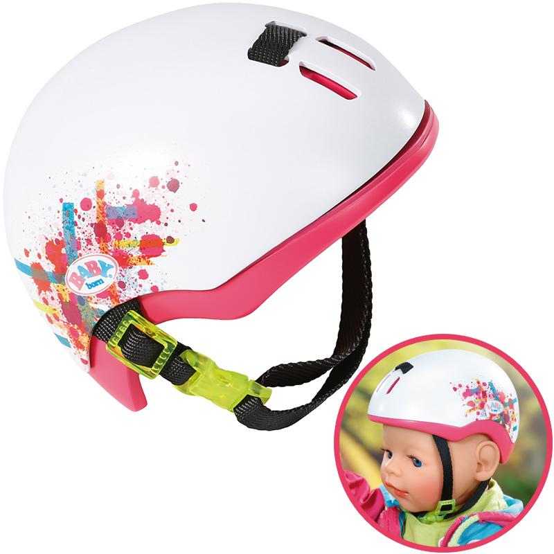 zapf-creation-baby-born-play-fun-fahrradhelm-wei-pink-kinderspielzeug-