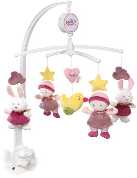 zapf creation baby born for babies musik mobile wei t du wieviel sternlein stehen bei spielzeug24. Black Bedroom Furniture Sets. Home Design Ideas