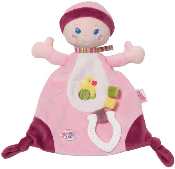 zapf-creation-baby-born-for-babies-schmusetuch-mit-bei-ring-babyspielzeug-