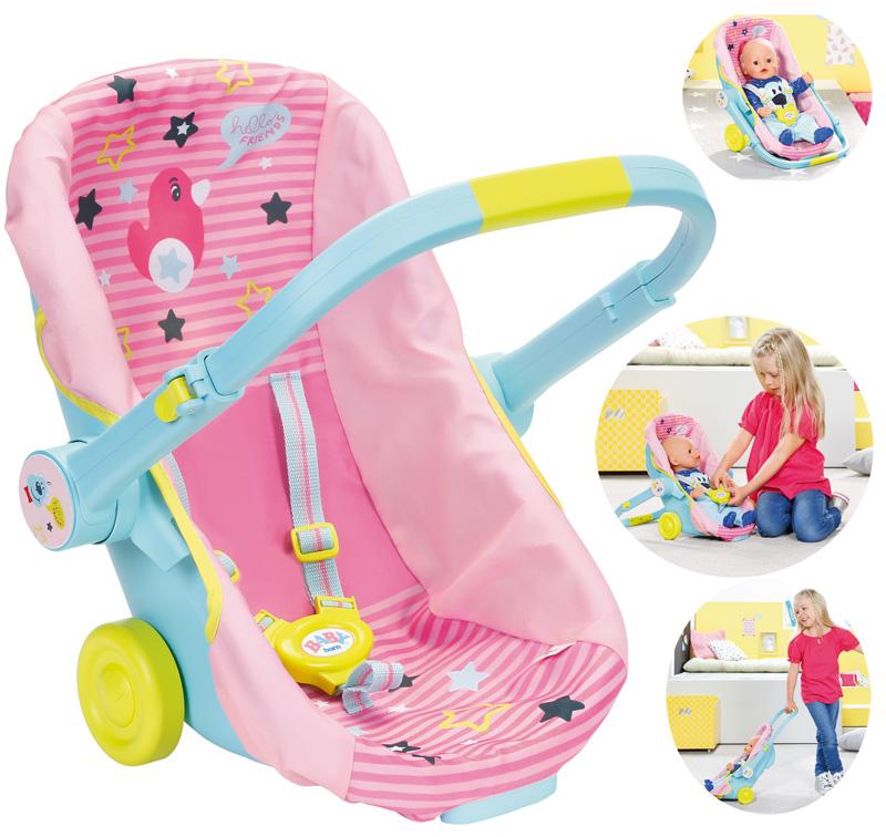 zapf-creation-baby-born-schalensitz-mit-radern-3in1-rosa-kinderspielzeug-
