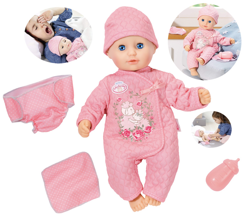 zapf-creation-my-first-baby-annabell-puppe-baby-fun-36-cm-rosa-kinderspielzeug-, 35.95 EUR @ spielzeug24