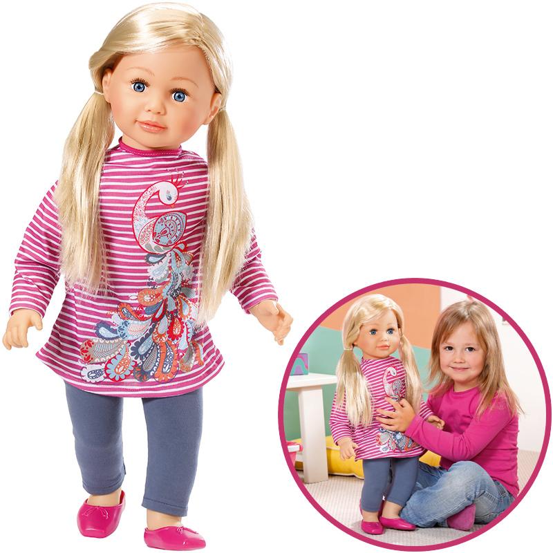 zapf-creation-gro-e-puppe-sally-63-cm-blond-kinderspielzeug-, 38.95 EUR @ spielzeug24