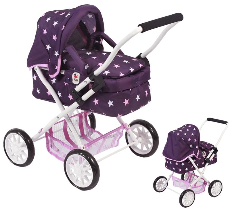 bayer-chic-2000-mein-erster-puppenwagen-smarty-stars-lila-kinderspielzeug-